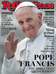 pope francis roling stone magazine cover