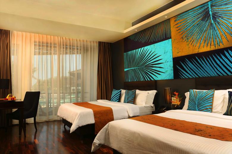 Guest room at Centara Ceysands Resort& Spa