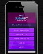 Screenshot - Sugar Bay Resort and Spa Mobile Website