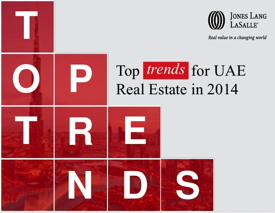 Report Cover - 2014 Top Trends for UAE Real Estate