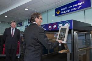 New Montréal-Trudeau Self-Service Bag Drops for U.S. Departures.