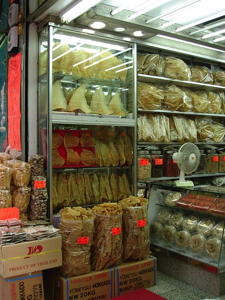 Shark fins shop in Hong Kong - Source Wikimedia Commons