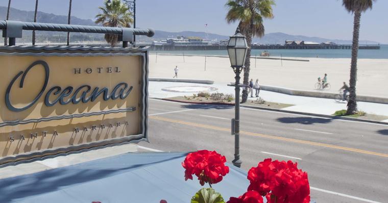 Hotel Oceana in Santa Barbara, California