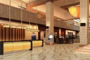 Sheraton Santo Domingo Hotel -Lobby Rendering