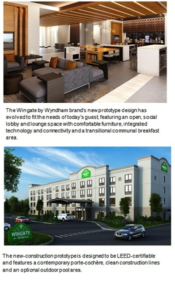 Pictures of the new Wingate prototype hotel