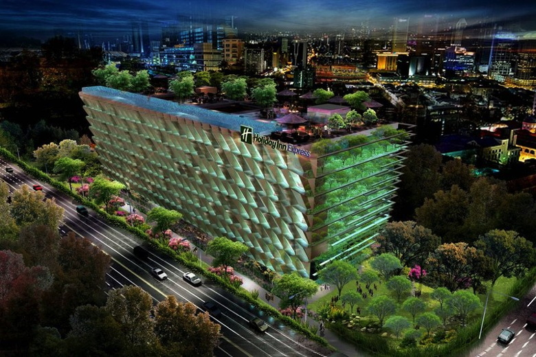 Holiday Inn Express Singapore Clarke Quay Rendering