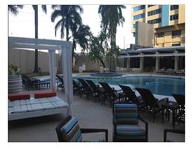 Radisson Hotel Trinidad Outdoor Pool