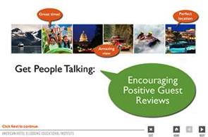 Image from TripAdvisor Online Reputation Management Training