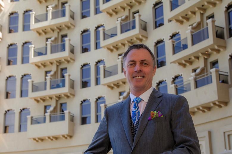Laurent A. Voivenel at The Ajman Palace