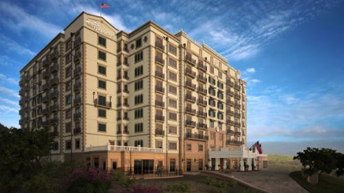 Rendering of the Hotel Granduca Austin