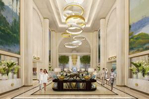Waldorf Astoria Beverly Hills Lobby Rendering