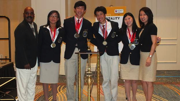 Pictured - Winners of the HTMP International Competition