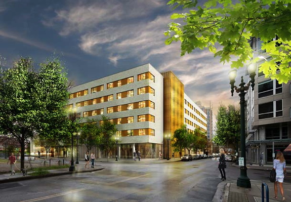 Residence Inn Portland Downtown/Pearl District Rendering