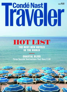 Conde Nast Traveler 2014 Hot List Issue Cover-page