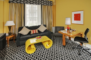 Suite at the the Monaco Washington DC