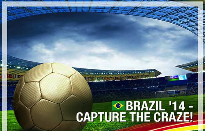 Infographic - Brazil 2014: Capture the Craze