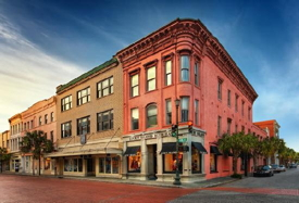 Restoration on King Hotel Charleston