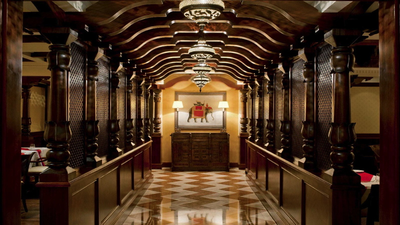 Entrance of Ashiana by Vineet Indian Restaurant at Sheraton Dubai Creek Hotel & Towers