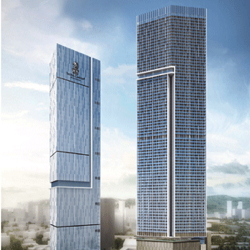 Rendering of the Ritz-Carlton Bangalore