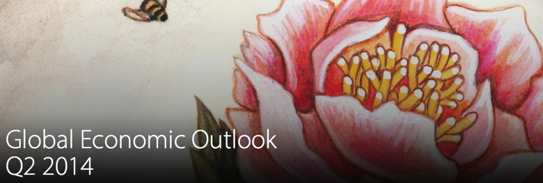 Coverpage from Deloitte Global Economic Outlook Q2 2014 Report