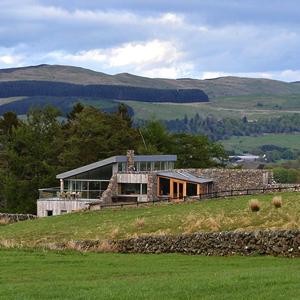 Three Glens House in Dumfriesshire, Scotland