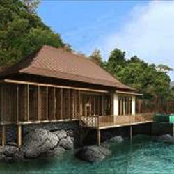 Ritz-Carlton resort on the tropical island of Langkawi, Malaysia
