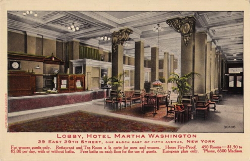 The Martha Washington Hotel