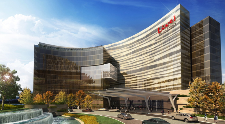 Rendering of the $750 million 'Live! Hotel & Casino New York' Project
