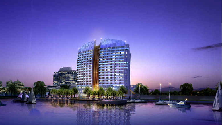 Rendering of the InterContinental Abu Dhabi