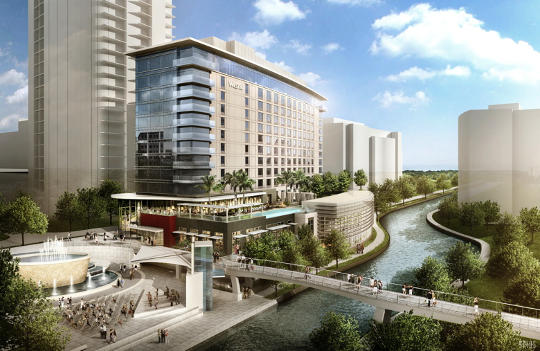 Rendering of the Westin, The Woodlands