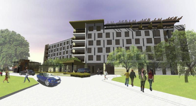 4 star boutique hotel to anchor atlas town center at for 4 star boutique hotel