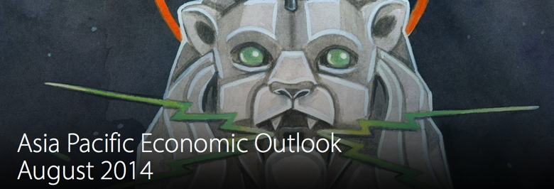 Cover Image from Deloitte Asia Pacific Economic Outlook August 2014