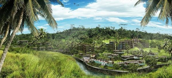 Rendering of the Solís Ubud Resort & Spa