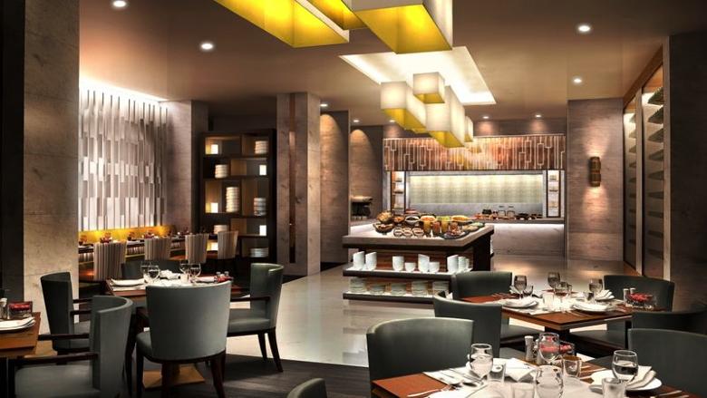 Lobby at Astana Marriott Hotel