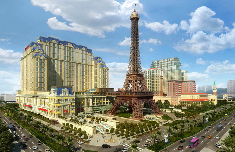 Artist Rendering of The Parisian Macao