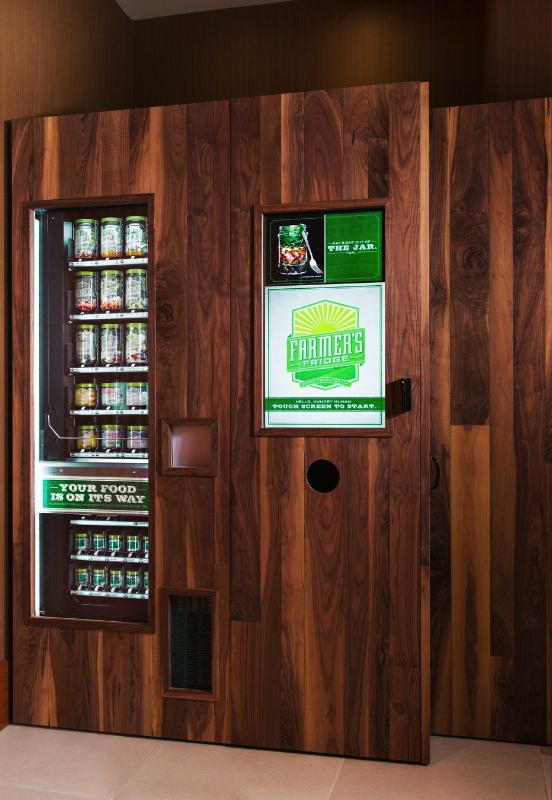 Marriott's Healthy Vending Machine
