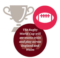 Graphic of a trophy and rugby ball