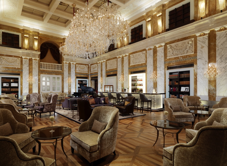 Restored HalleNsalon at Hotel Imperial, a Luxury Collection Hotel