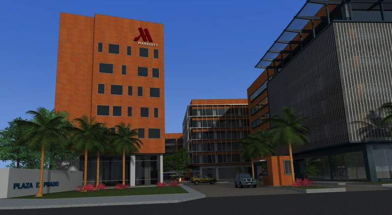 Rendering of the Marriott Guayaquil Hotel