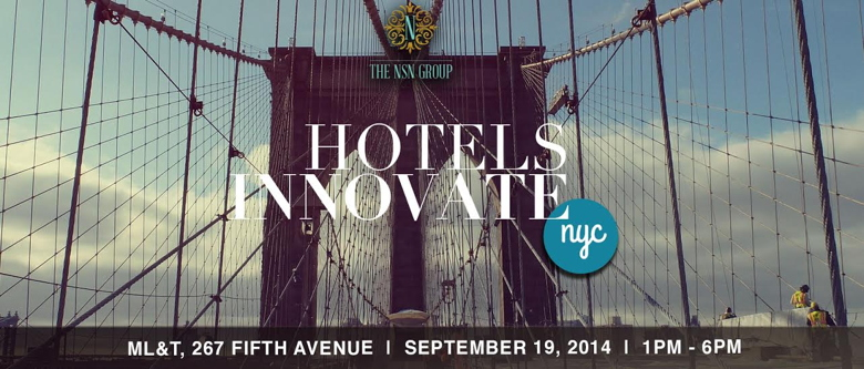 Advertisement for the HOTELS INNOVATE™ Forum