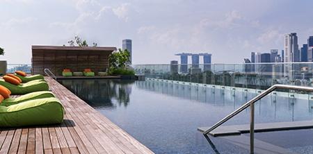 Hotel Jen Orchardgateway Singapore Rooftop