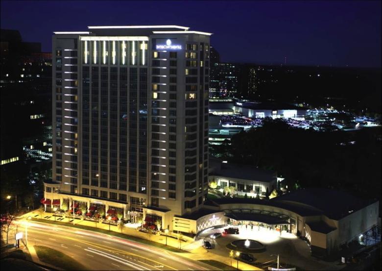 InterContinental Buckhead Atlanta - Exterior at night