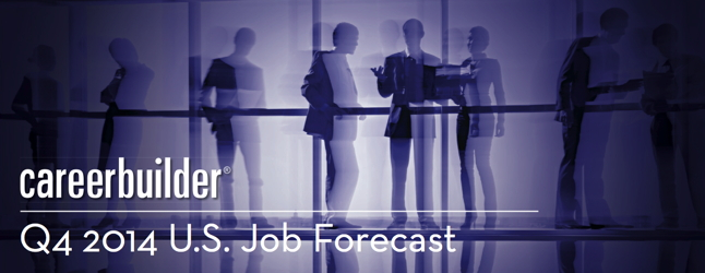 Image from CareerBuilder Q4 2014 U.S. Job Forecast