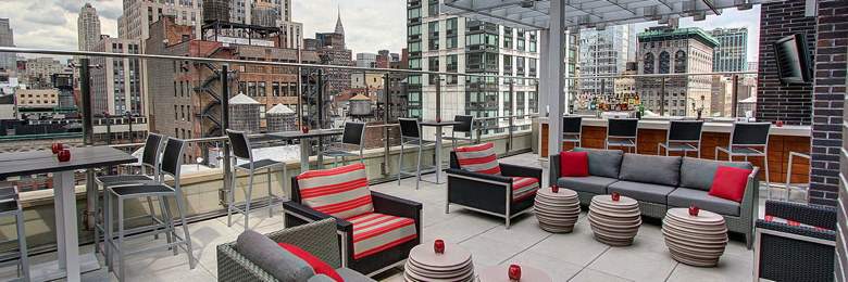 Rooftop Bar at Hyatt Herald Square New York