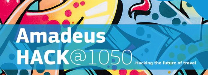Image from Amadeus HACK@1050 hackathon