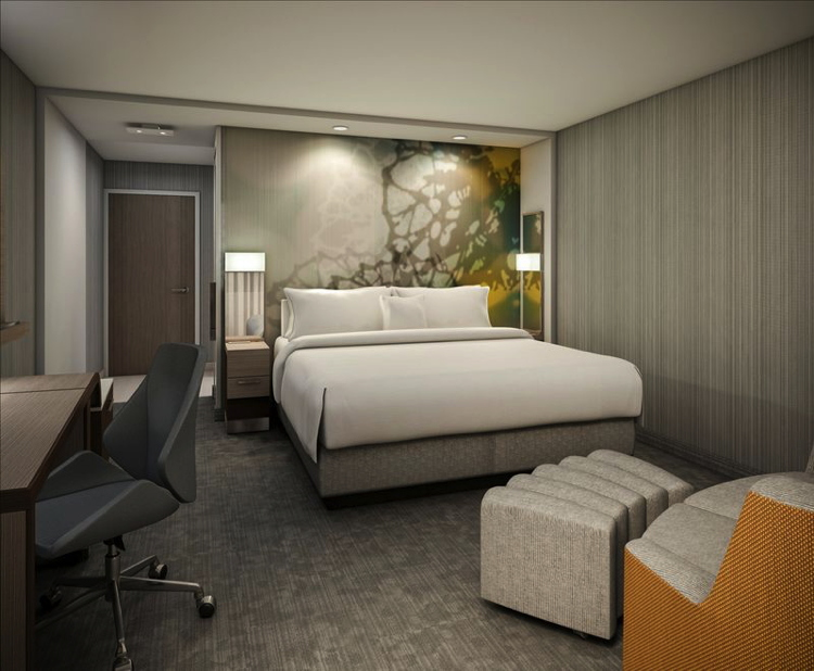 Courtyard by Marriott Guestroom