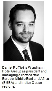 Daniel Ruff - president and managing director of the Europe, Middle East and Africa (EMEA) and Indian Ocean regions - Wyndham