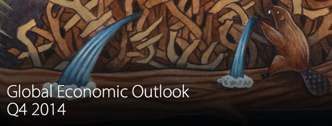 Cover from Deloitte Global Economic Outlook Q4 2014 Report