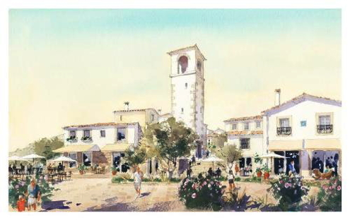 Rendering of the Viceroy Algarve at Quinta da Ombria