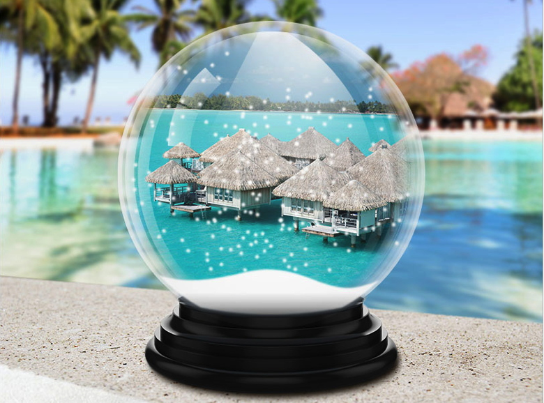 Starwood Promotional Image of a snow globe